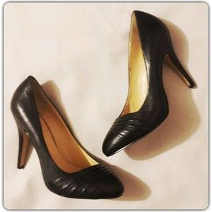 Nine West Leather Platform Pump 6